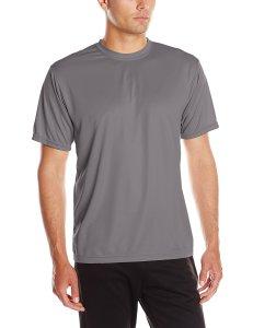 Grey Workout Shirt Men's