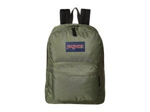 Green Backpack Nylon Jansport