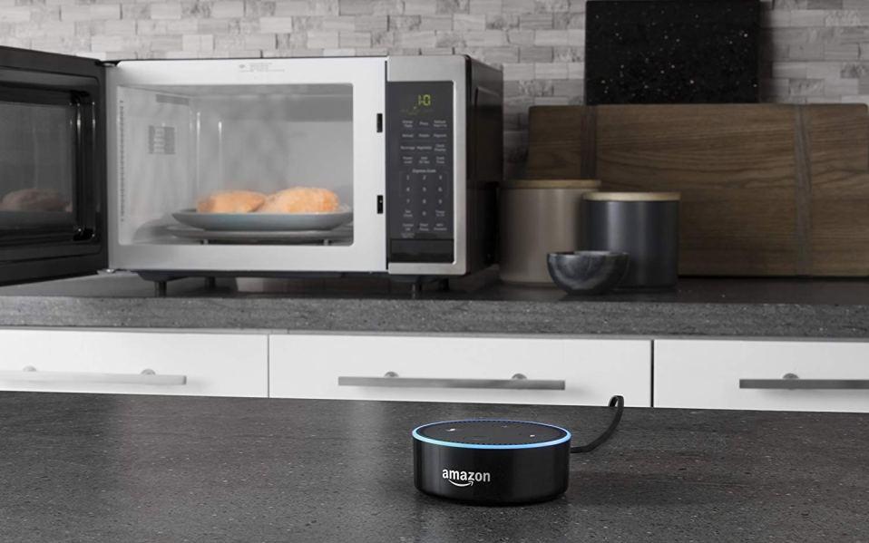 alexa enabled microwave