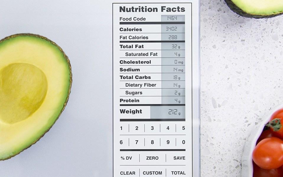 smart kitchen scale amazon