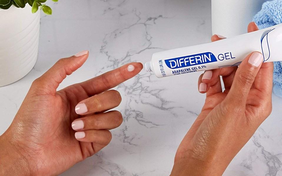 differin retinol gel