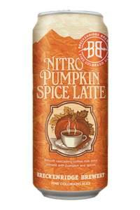 pumpkin spice snacks breckenridge brewery nitro