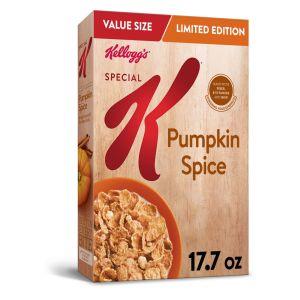 pumpkin spice snacks kelloggs special k