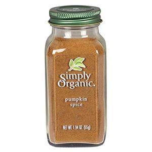pumpkin spice snacks simply organic