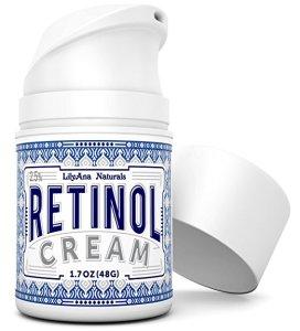 anti-aging lilyana naturals retinol cream