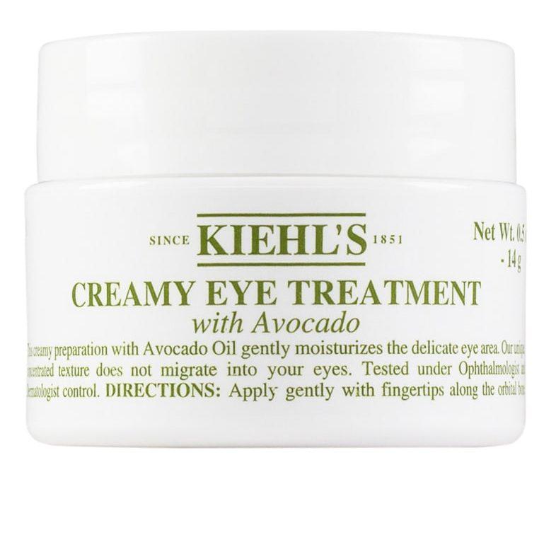 avocado oil skin care routine anti-aging kiehl's creamy eye treatment