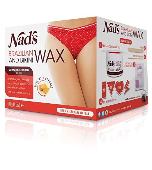 brazilian wax kits best bikini line at home nad's hard