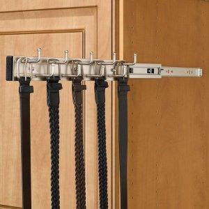 best ways to organize closet belt rack