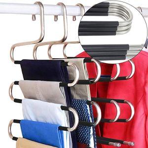 best ways to organize closet pants hangers