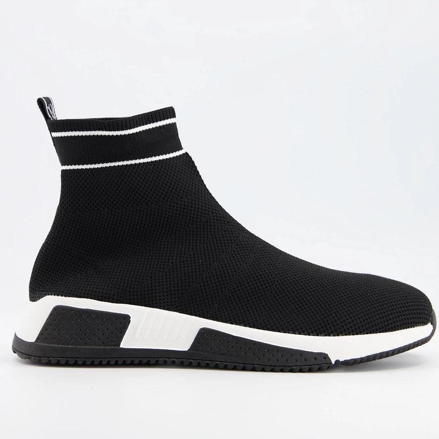 River Island Sock Sneakers