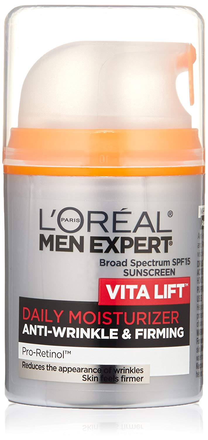neck lift natural skin care under 30 l'oreal paris vita lift men expert