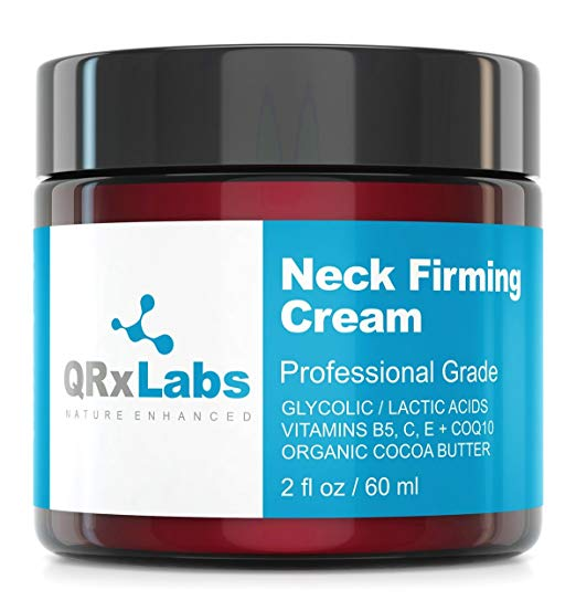 neck lift natural skin care under 30 qrxlabs firming cream
