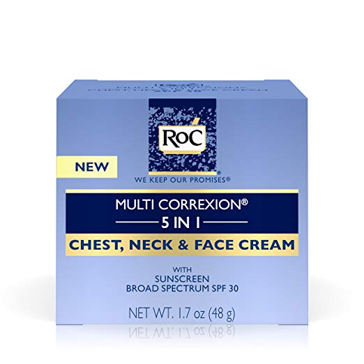 neck lift natural skin care under 30 roc 5 in 1 chest face cream multi correxion