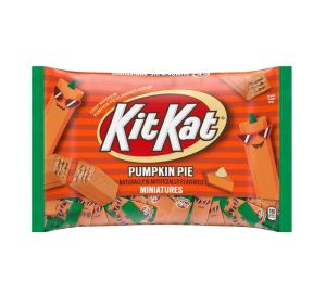 pumpkin spice snacks kit kat