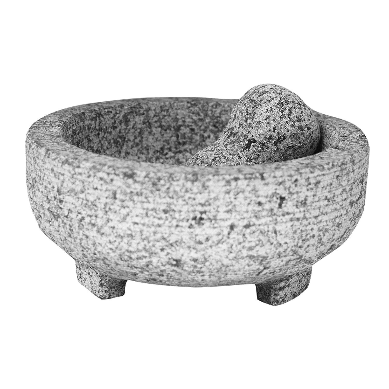 Vasconia Granite Molcajete Mortar and Pestle