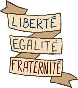 """France: """"Liberté, Egalité, Fraternité"""""""