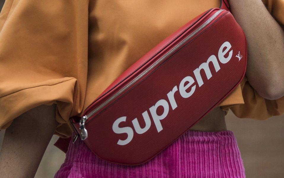 supreme waist bag fanny pack dupe