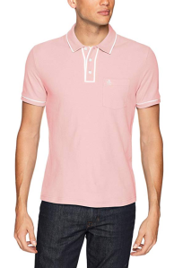 Pink Polo Shirt Men's