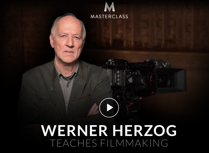 Werner Herzog teaches Filmmaking