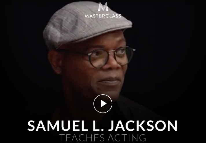 Samuel L. Jackson teaches Acting