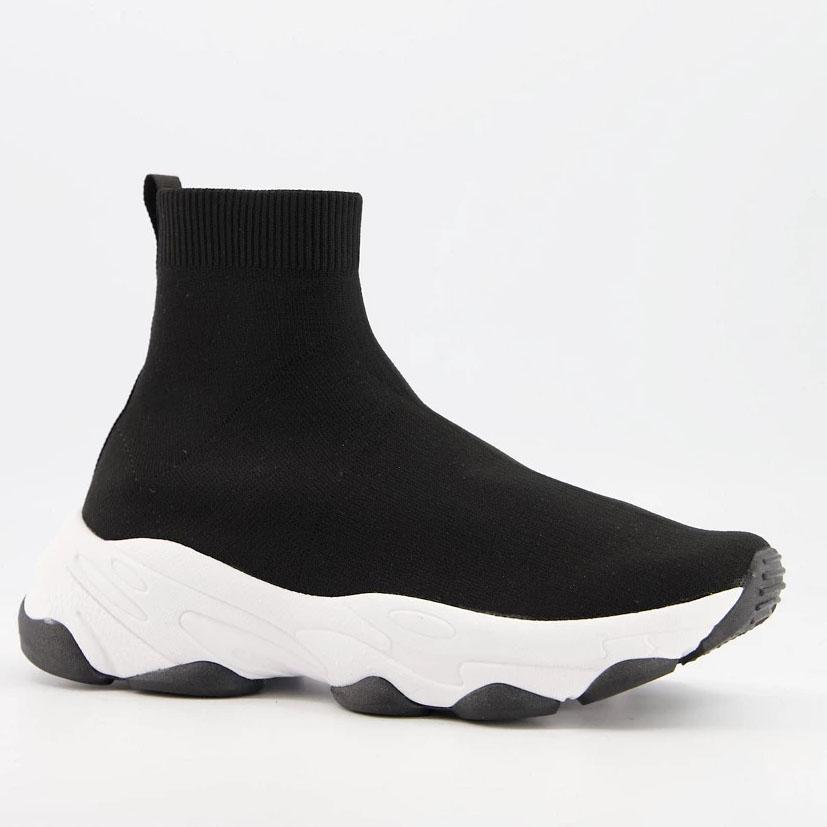 ASOS DESIGN Knitted Sock Sneakers