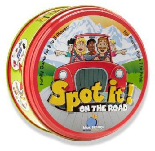 Travel Games Spot It On the road