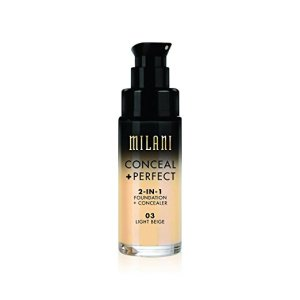 Conceal + Perfect Foundation Milani