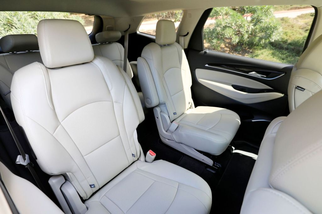 buick enclave interior review