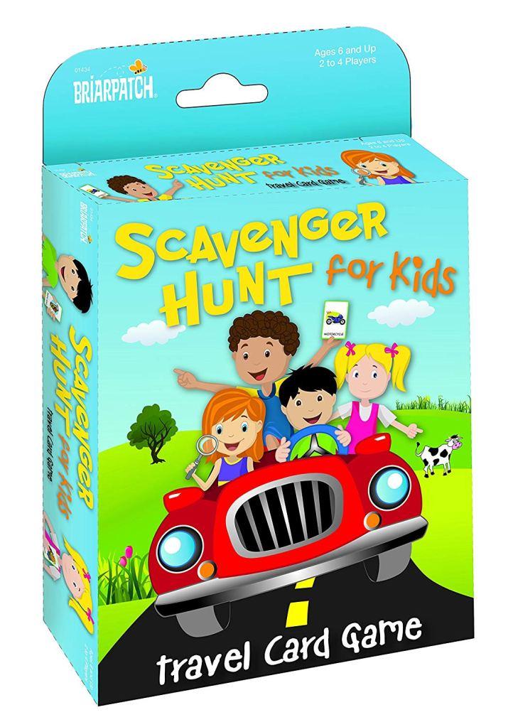 Travel Games Scavenger Hunt