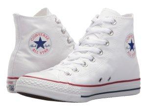 White Hi Top Sneakers Converse