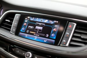 buick enclave dashboard review