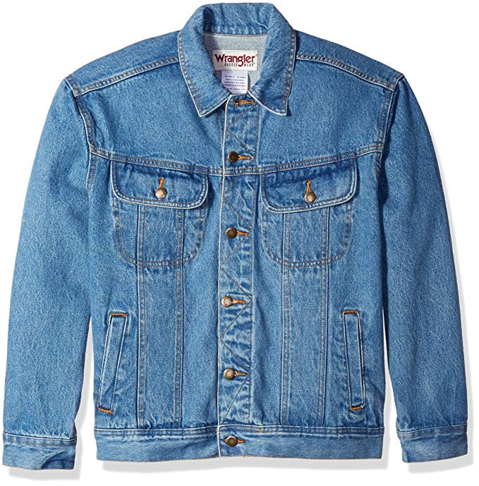 best denim jackets amazon wrangler