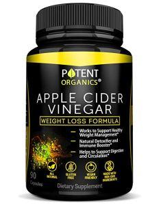 Potent Organics Apple Cider Vinegar Capsules