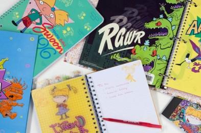 Nickelodeon Splat Notebook 4 Pack