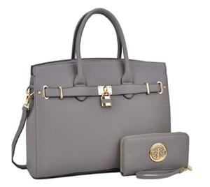 Dasein Women's Top Handle Satchel Handbag