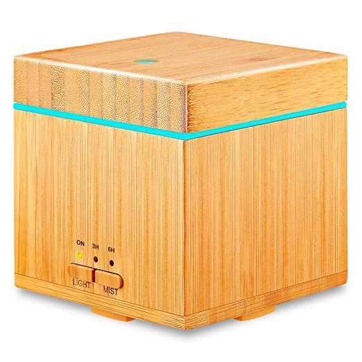 fragrance home best-selling amazon under $50 bamboo essential oil diffuser urpower