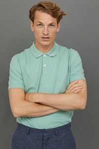 Green Polo Shirt Men's