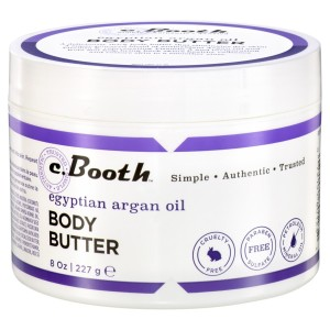 argan oil c.booth body butter