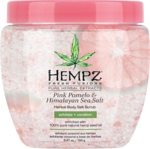 hempz pink pomelo and Himalayan sea salt body scrub