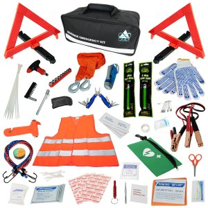 INEX Life Car Emergency Roadside Assistance Kit