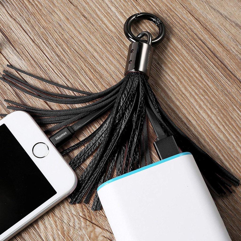 best tassel keychain charger