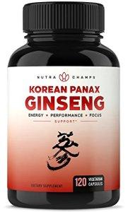 Korean Red Panax Ginseng