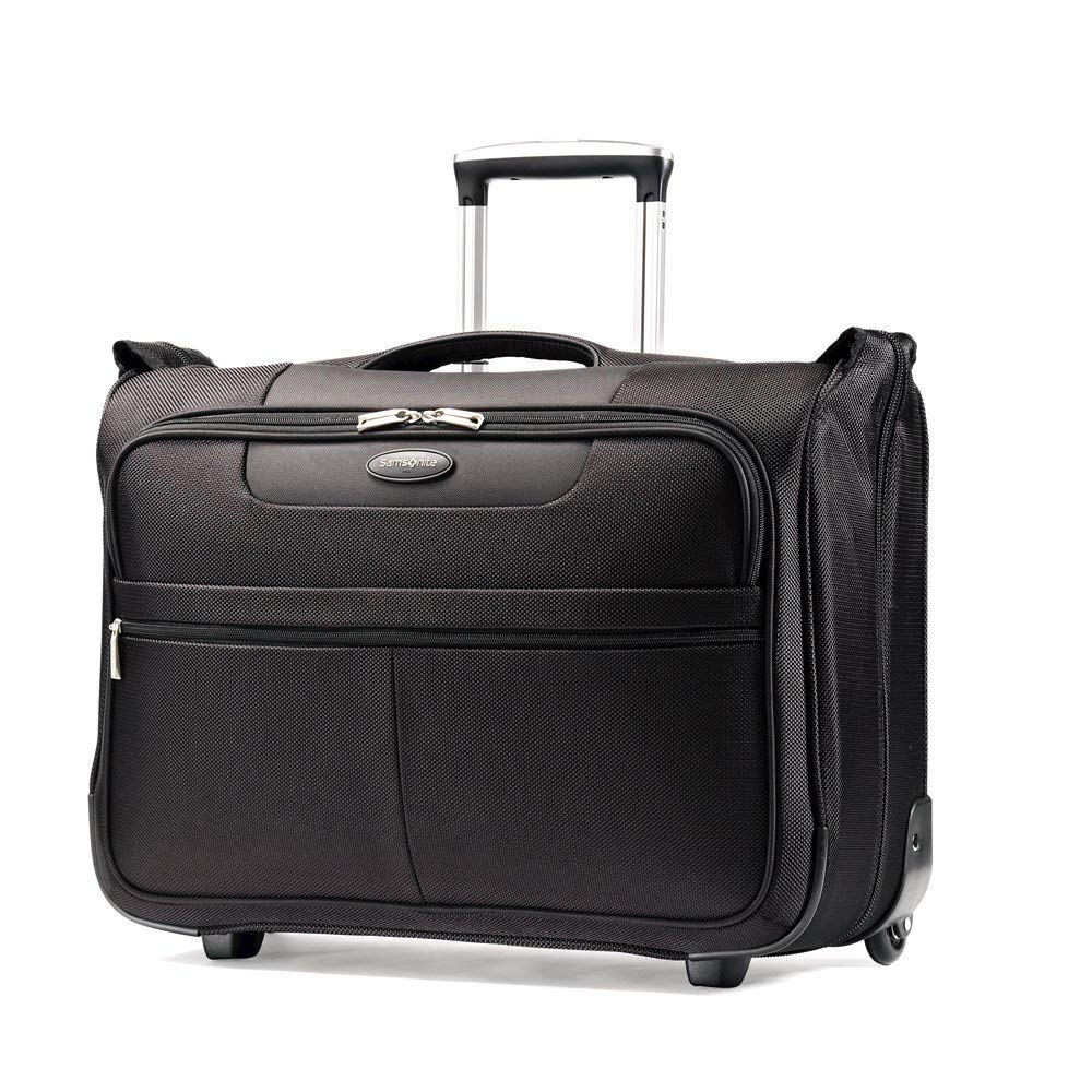 best luggage why invest in expensive suitcase travel tips carry-on Samsonite Luggage L.i.f.t. Carry-On Wheeled Garment Bag