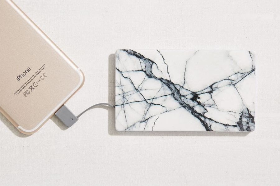 marble phone case power bank