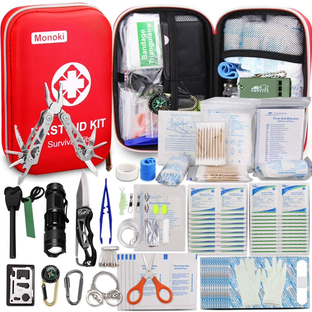 Monoki First Aid Survival Kit