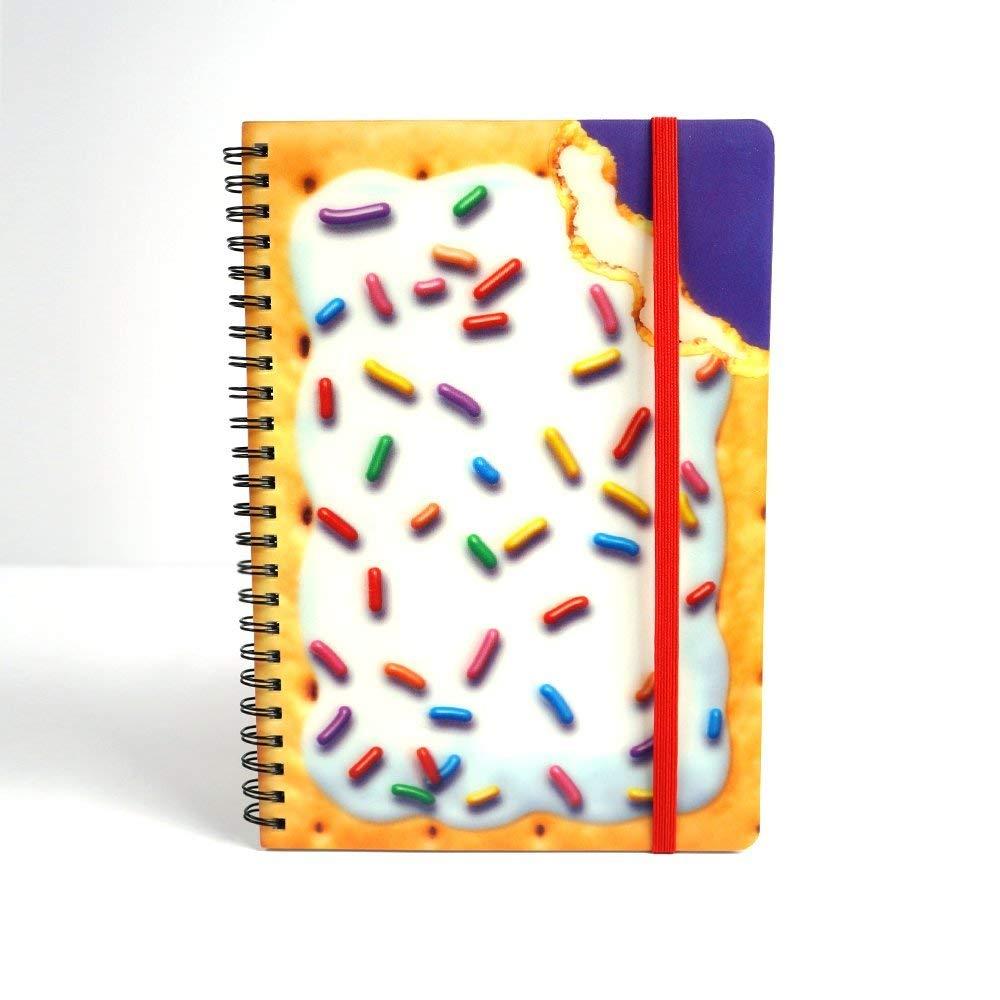 best spiral notebooks under $20 novelty kellogg's pop-tarts 3d