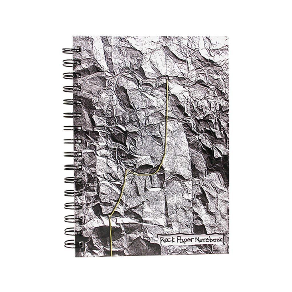 best spiral notebooks under $20 novelty made by humans rock paper journal