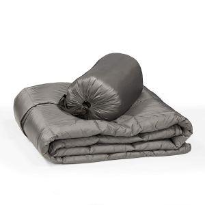 Outdoor Packable Down Throw Blanket