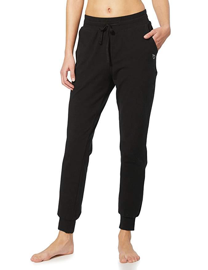 travel pants women under $100 baleaf Active Yoga Lounge Sweat Pants