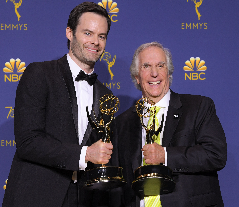 70th Primetime Emmy Awards, Press Room, Los Angeles, USA - 17 Sep 2018